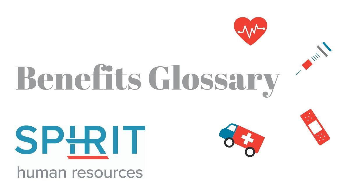 benefits glossary